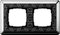 Установочная рамка Gira ClassiX Art Хром-черный