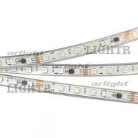 Лента SPI-5000P-5060-60 24V Cx6 RGB-Auto (12mm, 13.2W/m, IP66)