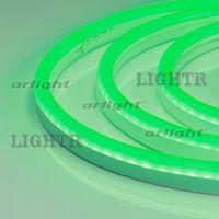 Гибкий неон ARL-CF2835-Classic-220V зеленый (26x15mm)