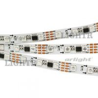 Лента SPI-5000-5060-60 12V Cx3 RGB-Auto (10mm, 13.2W/m, IP20)