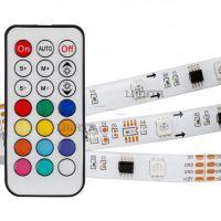 Лента SPI-5000SE-5060-30 12V Cx3 RGB-Remote (10mm, 7.2W, IP65)