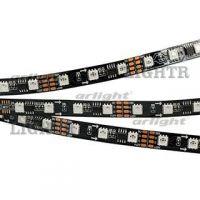 Лента SPI-5000-5060-60 12V Cx3 RGB-Auto (Black 10mm, 13.2W/m, IP20)