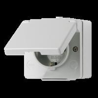 JUNG Штепсельная розетка SCHUKO для накладного монтажа 16A 250V ~ IP44