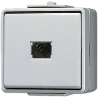 JUNG Кнопка для накладного монтажа без фиксации, однополюсная с НО контактом IP44