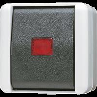 JUNG Выключатель контрольный для накладного монтажа универсальный IP44