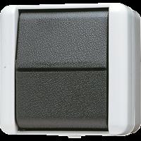 JUNG Выключатель для накладного монтажа  универсальный IP44
