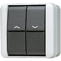 JUNG Выключатель  для управления жалюзи IP44