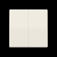 JUNG Клавиши для сдвоенного выключателя; слоновая кость