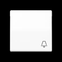 """JUNG Клавиша для выключателя с символом """"звонок""""; белая"""