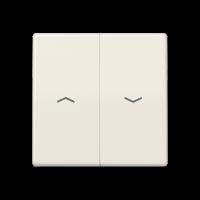 JUNG Клавиши для выключателя управления жалюзи; термопласт; слоновая кость