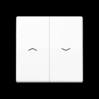 JUNG Клавиши для выключателя управления жалюзи; термопласт;белые