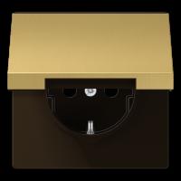JUNG Штепсельная розетка SCHUKO 16A 250V~ с крышкой, защитой от детей